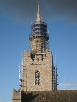 St Patrick's Cathedral Scaffolding